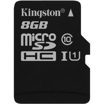 8GB microSDHC Kingston UHS-I Industrial Temp + bez adapteru