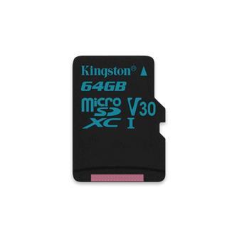 64GB microSDXC Kingston Canvas Go UHS-I U3 V30 90R/45W bez adapteru