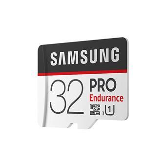 Micro SDHC 32GB Samsung PRO endurance + SD adaptér