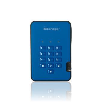 diskAshur2 SSD 256-bit 2TB - Blue