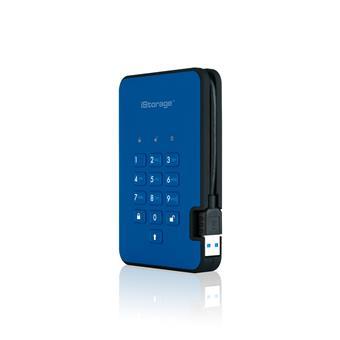 diskAshur2 SSD 256-bit 8TB - Blue
