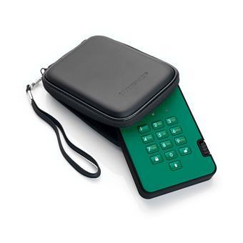 diskAshur2 SSD 256-bit 8TB - Green