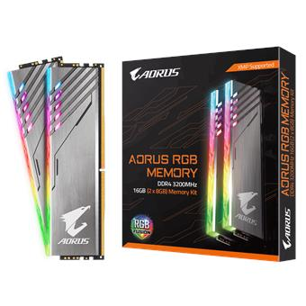 GIGABYTE AORUS 16GB DDR4 3200MH RGB kit 2x8GB