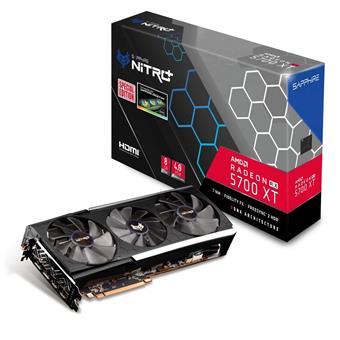 Sapphire NITRO+ RX 5700 XT 8GB (256) 2xH 2xD S