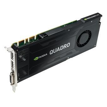 PNY Quadro K4200 4GB (256) 2xDP 1xDVI st (3 roky záruka)