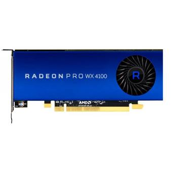 AMD Radeon Pro WX 4100 - 4GB GDDR5, 4xmDP