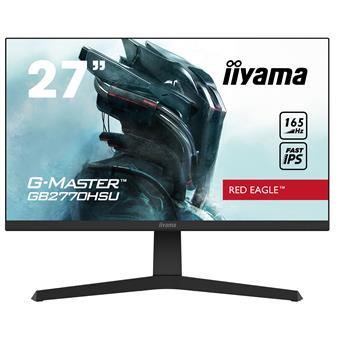 """27"""" iiyama G-Master GB2770HSU-B1: IPS, FullHD@165Hz, 250cd/m2, 0.8ms, HDMI, DP, USB, FreeSync, pivot"""