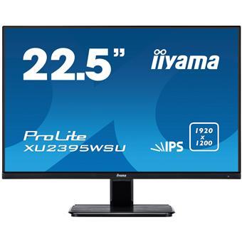 "23"" iiyama XU2395WSU-B1 - IPS,1920x1200,4ms,250cd/m2, 1000:1,16:10,VGA,HDMI,DP,USB,repro."