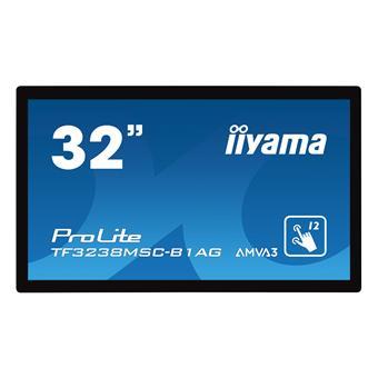 """32"""" iiyama TF3238MSC-B1AG - AMVA,FullHD,8ms,420cd/m2, 3000:1,16:9,VGA,DVI,HDMI,DP,USB,repro"""