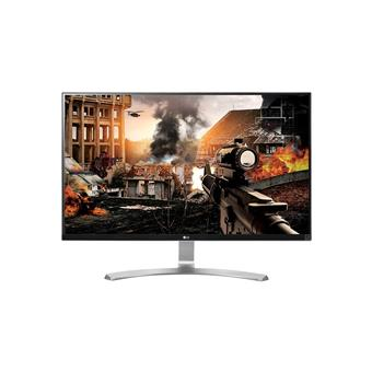 "27"" LG LED 27UD68-W - Ultra HD (4K), 16:9, 2x HDMI, DP, VESA"