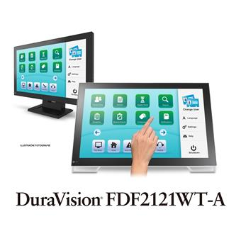 "21"" LED EIZO FDF2121-WT -FHD,USB,SAW,10TP"