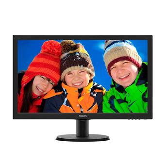 "24"" LED Philips 243V5LHSB - FHD, HDMI, DVI"