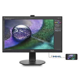 "27"" LED Philips 272P7VPTKEB-UHD,IPS,HDMI,DP,rep,pi"