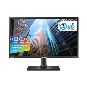 """24"""" LED Samsung S24E45KBSV - Full HD, DVI, pivot"""