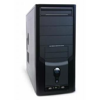 KME MidiTower ATX CX-0762 P4-350W USB+A+FW, černá