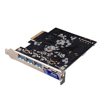 AKASA PCIe karta 2xUSB 3.2 Gen 2 Type-C a 3xType-A