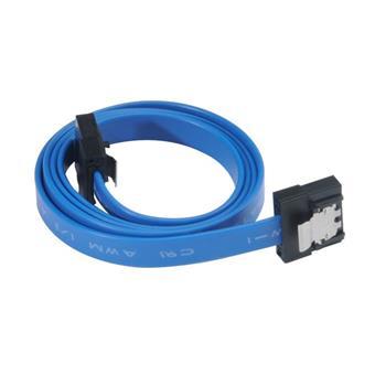AKASA - Proslim 6Gb/s SATA3 kabel - 30 cm - modrý