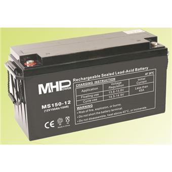 Pb akumulátor MHPower VRLA AGM 12V/150Ah (MS150-12