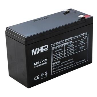 Pb akumulátor MHPower VRLA AGM 12V/7Ah (MS7-12)