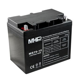 Pb akumulátor MHPower VRLA AGM 12V/75Ah (MS75-12)