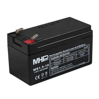 Pb akumulátor MHPower VRLA AGM 12V/1,3Ah (MS1.3-12