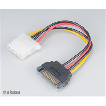 Adaptér SATA na 4pin Molex - 15 cm