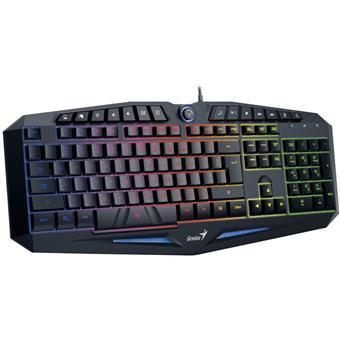 Klávesnice GENIUS K9 Black, gaming, CZ+SK