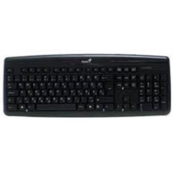 Klávesnice GENIUS KB-128, USB, black