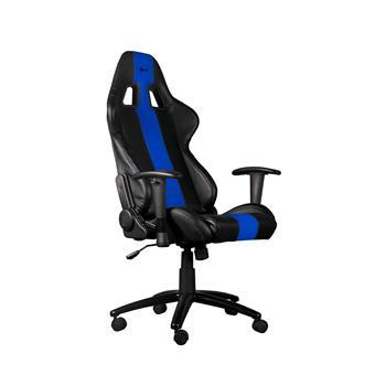 Herní křeslo C-TECH PHOBOS (GCH-01B), pro gaming, černo-modré