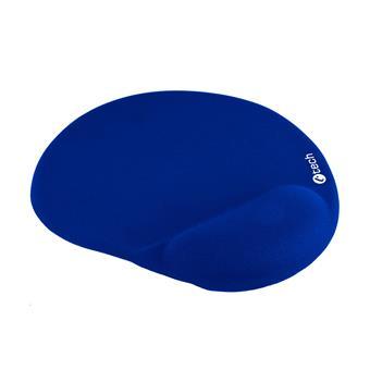 Podložka pod myš gelová C-TECH MPG-03, modrá, 240x220mm