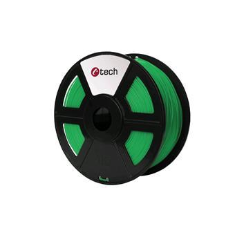 Tisková struna (filament) C-TECH, PLA, 1,75mm, 1kg, zelená