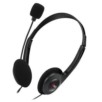 Sluchátka k PC C-TECH MHS-03E, černá