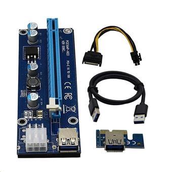 Kabel C-TECH PCI-Express riser RC-PCIEX-01C