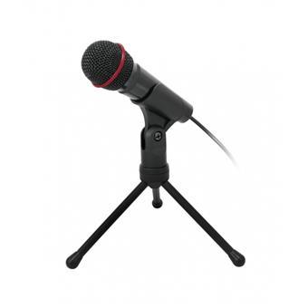 """Stolní mikrofon C-TECH MIC-01, 3,5"""" stereo jack, 2.5m"""