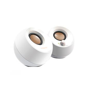 Speaker CREATIVE Pebble USB, 2.0, white