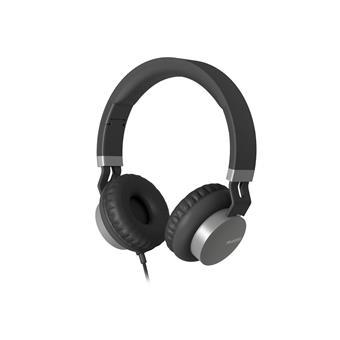 Náhlavní sluchátka Audictus Creator, černo-stříbrné