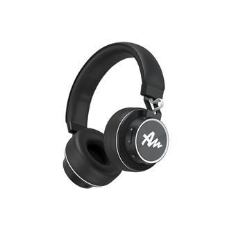 Náhlavní sluchátka Audictus Winner, bezdrátové BT 4.2 + kabel, černé