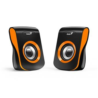 Speaker GENIUS SP-Q180, ORANGE, USB, 6W
