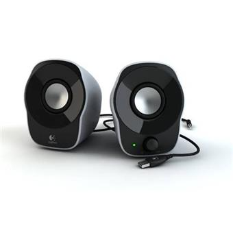 Logitech 2.0 Stereo Speakers Z120, 1.2W RMS, USB