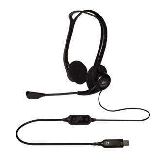 náhlavní sada Logitech PC 960 Stereo Headset, USB