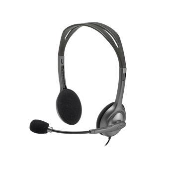 PROMO náhlavní sada Logitech Stereo Headset H111
