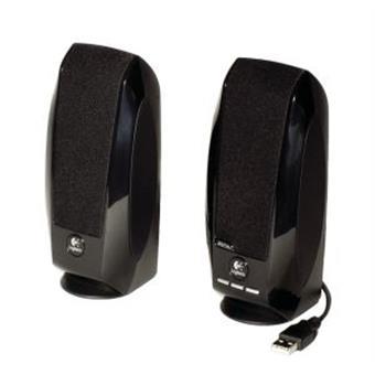 repro LOGITECH S150 Black OEM, černé,USB připojení