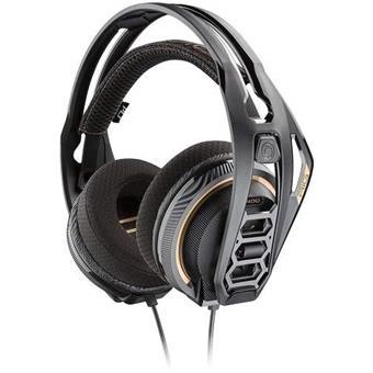 Plantronics RIG 400PC, herní sluchátka s mikrofonem, černá