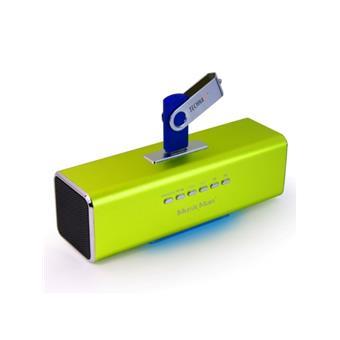 Technaxx MusicMan, baterie 600 mAh, FM, USB, zele.