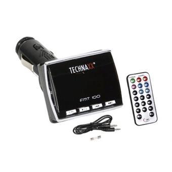 Technaxx FM transmitter FMT100 - MP3 přehrávač