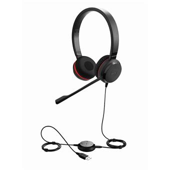 Jabra Evolve 30 II, Duo, USB/Jack, MS