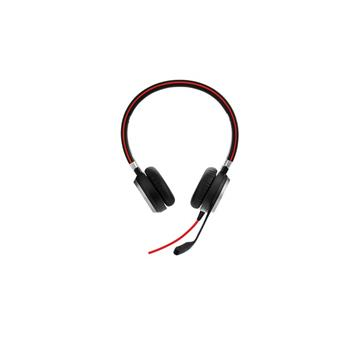 Jabra Evolve 40, Duo, USB/Jack, MS