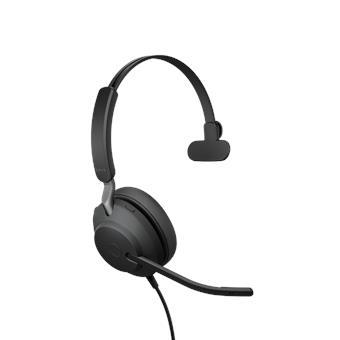 Jabra Evolve2 40, USB-C, UC Mono