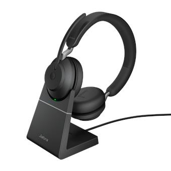 Jabra Evolve2 65, USB-A Black MS, team,Ster.,Desk.