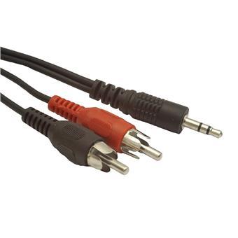 GEMBIRD kabel minijack 3.5mm - 2x RCA M/M 2,5m